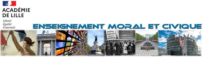Site académique de l'enseignement moral et civique